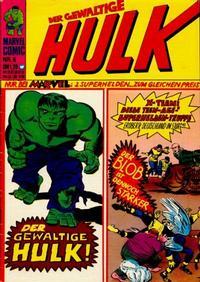 Cover Thumbnail for Hulk (BSV - Williams, 1974 series) #6