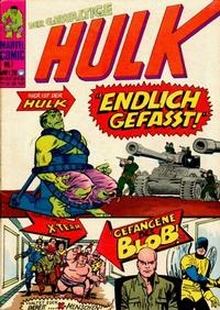 Cover Thumbnail for Hulk (BSV - Williams, 1974 series) #7