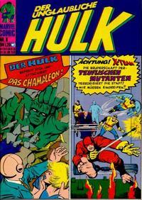 Cover Thumbnail for Hulk (BSV - Williams, 1974 series) #8