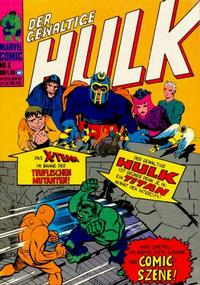 Cover Thumbnail for Hulk (BSV - Williams, 1974 series) #9