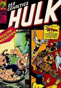 Cover Thumbnail for Hulk (BSV - Williams, 1974 series) #10