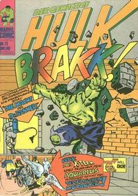 Cover Thumbnail for Hulk (BSV - Williams, 1974 series) #12