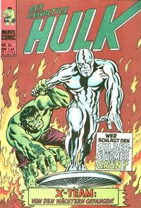 Cover Thumbnail for Hulk (BSV - Williams, 1974 series) #32
