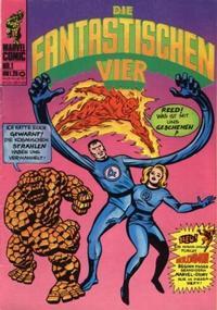 Cover Thumbnail for Die Fantastischen Vier (BSV - Williams, 1974 series) #1