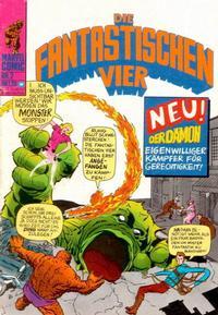 Cover Thumbnail for Die Fantastischen Vier (BSV - Williams, 1974 series) #2