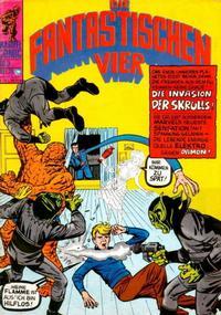 Cover Thumbnail for Die Fantastischen Vier (BSV - Williams, 1974 series) #3
