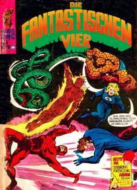 Cover Thumbnail for Die Fantastischen Vier (BSV - Williams, 1974 series) #4