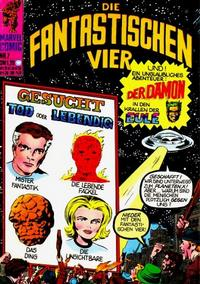 Cover Thumbnail for Die Fantastischen Vier (BSV - Williams, 1974 series) #7