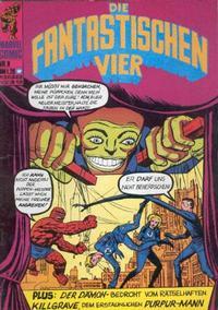 Cover Thumbnail for Die Fantastischen Vier (BSV - Williams, 1974 series) #8