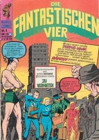 Cover Thumbnail for Die Fantastischen Vier (BSV - Williams, 1974 series) #9