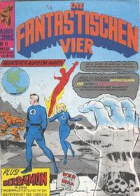 Cover Thumbnail for Die Fantastischen Vier (BSV - Williams, 1974 series) #11