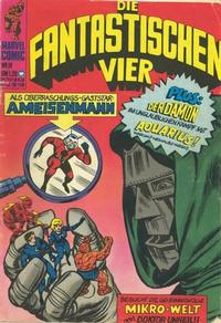 Cover Thumbnail for Die Fantastischen Vier (BSV - Williams, 1974 series) #14