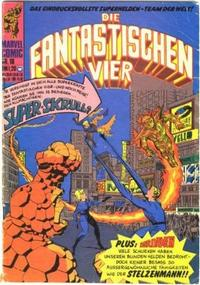 Cover Thumbnail for Die Fantastischen Vier (BSV - Williams, 1974 series) #16