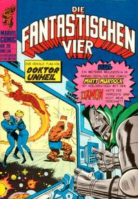 Cover Thumbnail for Die Fantastischen Vier (BSV - Williams, 1974 series) #20