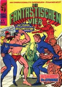 Cover Thumbnail for Die Fantastischen Vier (BSV - Williams, 1974 series) #24