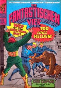 Cover Thumbnail for Die Fantastischen Vier (BSV - Williams, 1974 series) #29