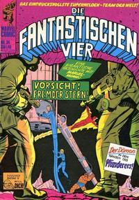 Cover Thumbnail for Die Fantastischen Vier (BSV - Williams, 1974 series) #34