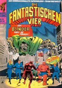 Cover Thumbnail for Die Fantastischen Vier (BSV - Williams, 1974 series) #36