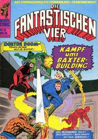 Cover Thumbnail for Die Fantastischen Vier (BSV - Williams, 1974 series) #37