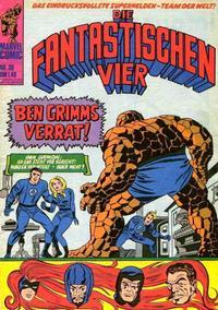 Cover Thumbnail for Die Fantastischen Vier (BSV - Williams, 1974 series) #38