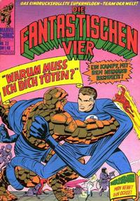 Cover Thumbnail for Die Fantastischen Vier (BSV - Williams, 1974 series) #39