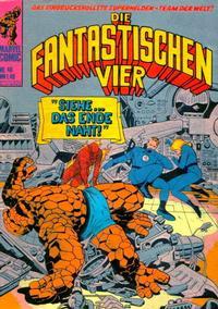 Cover Thumbnail for Die Fantastischen Vier (BSV - Williams, 1974 series) #40