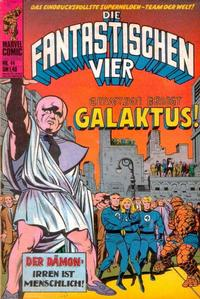 Cover Thumbnail for Die Fantastischen Vier (BSV - Williams, 1974 series) #44