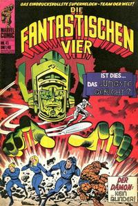Cover Thumbnail for Die Fantastischen Vier (BSV - Williams, 1974 series) #45