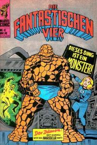 Cover Thumbnail for Die Fantastischen Vier (BSV - Williams, 1974 series) #47
