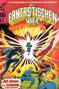 Cover Thumbnail for Die Fantastischen Vier (BSV - Williams, 1974 series) #49