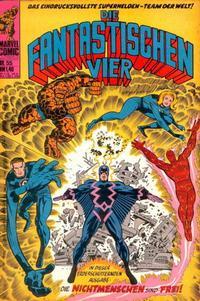 Cover Thumbnail for Die Fantastischen Vier (BSV - Williams, 1974 series) #55