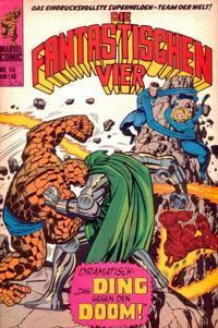 Cover Thumbnail for Die Fantastischen Vier (BSV - Williams, 1974 series) #56