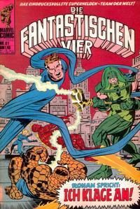 Cover Thumbnail for Die Fantastischen Vier (BSV - Williams, 1974 series) #61