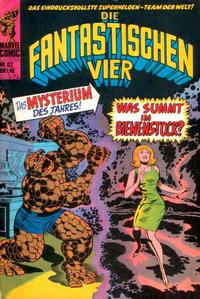 Cover Thumbnail for Die Fantastischen Vier (BSV - Williams, 1974 series) #62