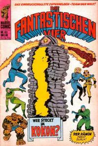 Cover Thumbnail for Die Fantastischen Vier (BSV - Williams, 1974 series) #63