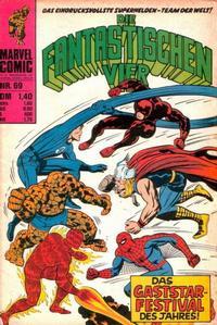 Cover Thumbnail for Die Fantastischen Vier (BSV - Williams, 1974 series) #69