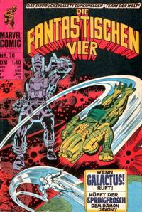 Cover Thumbnail for Die Fantastischen Vier (BSV - Williams, 1974 series) #70