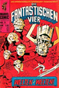 Cover Thumbnail for Die Fantastischen Vier (BSV - Williams, 1974 series) #71