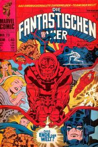 Cover Thumbnail for Die Fantastischen Vier (BSV - Williams, 1974 series) #73