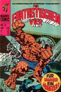 Cover Thumbnail for Die Fantastischen Vier (BSV - Williams, 1974 series) #75
