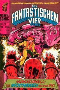 Cover Thumbnail for Die Fantastischen Vier (BSV - Williams, 1974 series) #77