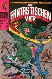 Cover for Die Fantastischen Vier (BSV - Williams, 1974 series) #79
