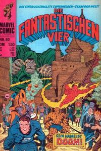 Cover Thumbnail for Die Fantastischen Vier (BSV - Williams, 1974 series) #80