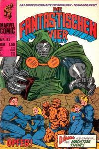Cover Thumbnail for Die Fantastischen Vier (BSV - Williams, 1974 series) #82
