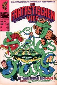 Cover for Die Fantastischen Vier (BSV - Williams, 1974 series) #84