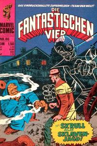 Cover Thumbnail for Die Fantastischen Vier (BSV - Williams, 1974 series) #86