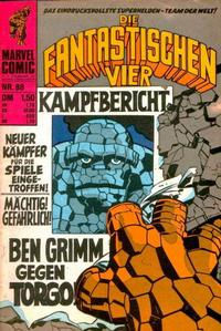 Cover Thumbnail for Die Fantastischen Vier (BSV - Williams, 1974 series) #88