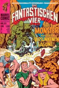 Cover Thumbnail for Die Fantastischen Vier (BSV - Williams, 1974 series) #93