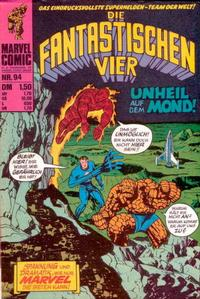 Cover Thumbnail for Die Fantastischen Vier (BSV - Williams, 1974 series) #94
