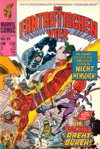Cover Thumbnail for Die Fantastischen Vier (BSV - Williams, 1974 series) #95